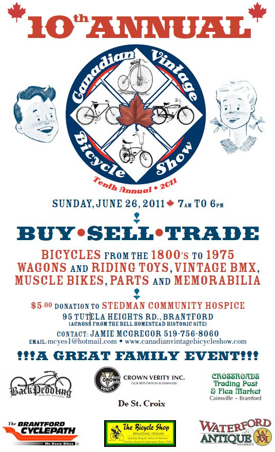 10th Canadian Vintage Bicycle Show