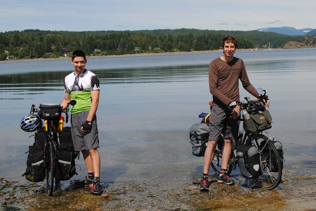 Bikes Canada Niels bikes across Canada
